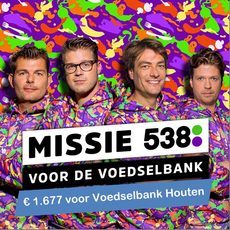 Opbrengst actie Radio 538