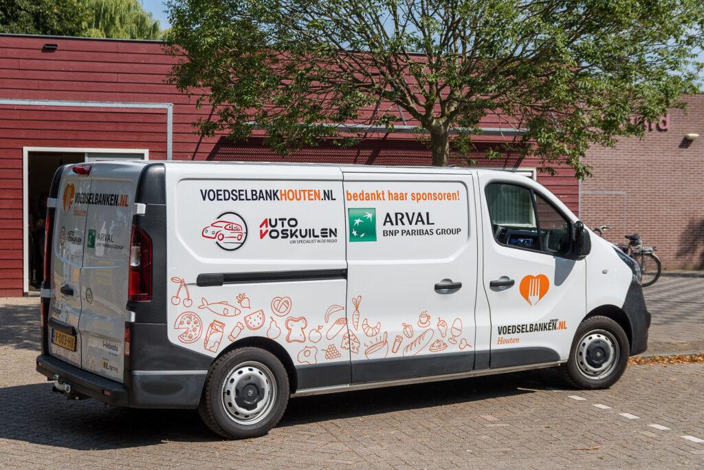Koelbus Voedselbank Houten